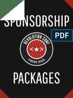 Revolution Conf 2016 - Sponsor Package
