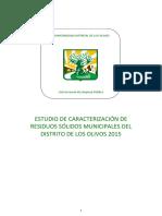 Estudio de Caracterización Municipal de Los Olivos 2015