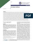 Inherited Epidermolisis Bullosa