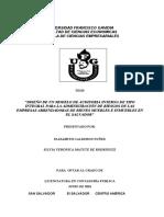 Tesis - Diseño de Un Modelo de Auditoria Interna de Tipo Integral