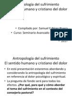 Antropología Del Sufrimiento