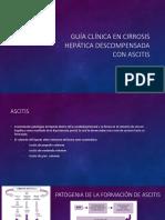 Guía Clínica en Cirrosis Hepática Descompensada Con Ascitis
