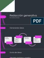 Redacción Generativa