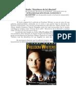 Análisis de La Película Escritores de la libertad
