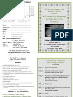 Conference on Elder Abuse Registration