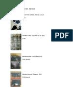 Libros en Venta (Ag16)