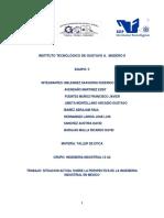 Situacion Actual Sobre Las Perspectivas de La Ingenieria Industrial en Mexico