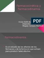 Farmacocinética y Farmacodinámica II