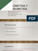 Gasometría y Espirometria