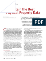 Mayo 2009 Physical Property Data