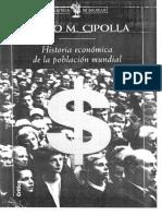 Cipolla, Carlo Maria- Historia Economica de La Poblacion Mundial