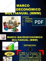Marco Macroeconómico Multianual (Mmm)