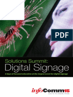 Solutions Summit Digital Signage