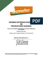 Normas Demeter