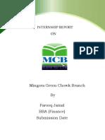 MCB financial report