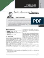 PRIORI POSADA, Giovanni. «Partes y terceros en el proceso civil.pdf