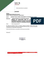 Informe de Planos y Levantamiento de Informacion