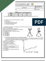 lista de quimica 3º ano