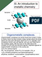 Organometallics introduction