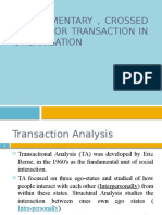 Transaction In Organisation