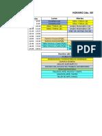 Horario Metalurgia (2do 4to 6to 8vo)