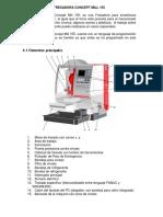 Fresadora Concept Mill 155 Practicas