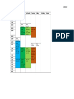 Weekly Planner Semester 2 2017
