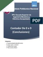 Diseñar Un Contador 9 a 0 Conclusiones