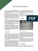 Conductividad (electrolítica)