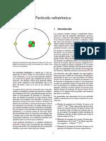 Partícula subatómica
