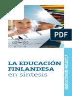 Sistema Educativo FINLANDIA 2013