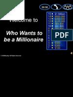 Millionaire Space Revision