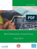 Bihar Elementary School Study 2014 ASER