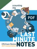 CPA Exam Notes Financial (FAR) FREE PDF