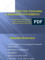 Writing Research Teaching Statements 2013 0513