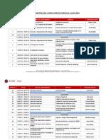 EUDE - Calendario MBAJL16