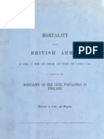 Mortality of the British Army, 1858