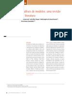 Análises de Modelos- Uma Revisão Da Literatura
