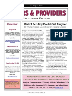 Payers & Providers – Issue of August 12, 2010