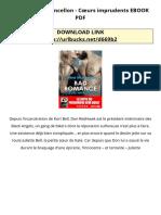 EPUB Céline Mancellon - Cœurs imprudents EBOOK PDF