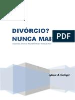 Divorcio? Nunca Mais!