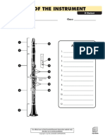 Parts of the Instrument - Clarinet