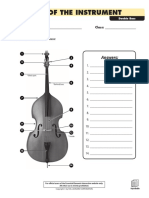 Parts of the Instrument - Double Bass