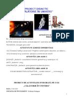 Calatorie in Univers