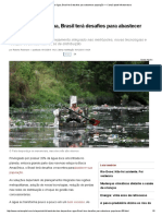 1-Ao Desperdiçar Água, Brasil Terá Desafios Para Abastecer População