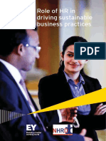 EY Role of HR in Driving Sustainable Business Practices