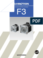 Three Phase F3 Stepper Motors V3