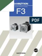 Three Phase F3 Stepper Motors V3