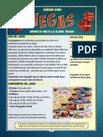 Instrucciones juego Las Vegas