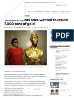 'Imelda Marcos Once Wanted to Return 7,000 Tons of Gold' _ Inquirer News